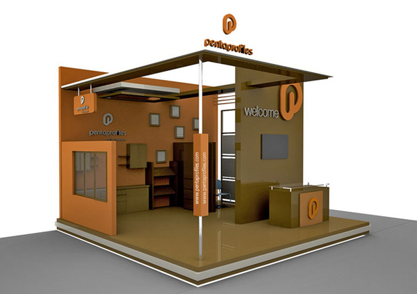Exhibition Stall Design Octanorm : Khan sons